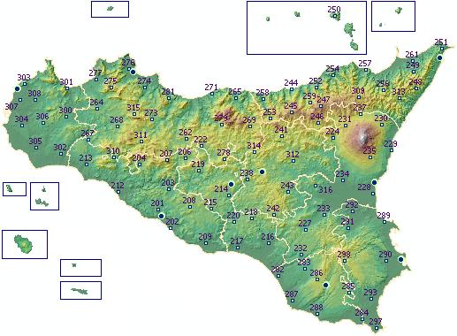 Cartina Sicilia Tematica.Sias